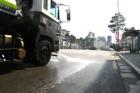 중구, 폭염속 도로에 물 7238톤 뿌려