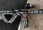 뉴질랜드 테러범 총기에 적힌 '숫자', 무슨 의미로 적은걸까?