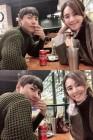 """지소연♥송재희, 신혼부부의 애정 과시…""""멋진 우리 여보"""""""