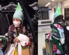"""""""흔한 공항패션 실패""""…산다라박, 독특한 모자로 시선 강탈"""