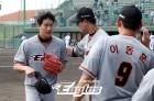'박윤철 3이닝 무자책' 한화, 주니치와 4-4 무승부