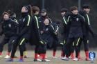 여자 대표팀도 중국전, 20일 4개국 친선대회 결승