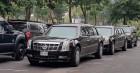야수가 나타났다…하노이에 등장한 트럼프의 차 '캐딜락 원'