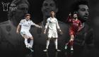 호날두-모드리치-살라, UEFA 올해의 선수 최종후보 3인