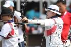 女양궁, 랭킹라운드 1~3위 싹쓸이…강채영 AG 신기록