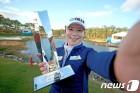 개막전 우승 지은희, 세계랭킹 7계단 상승해 25위