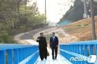 김정은의 꿈-도보다리와 베트남