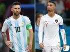 유럽 챔스리그 지배하는 호날두·메시, 이번엔 A매치 출격