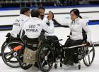 한국 휠체어컬링 대표팀, 스위스 와 세계선수권 6강 PO 격돌