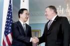 """북한엔 """"억류 미국인 석방 감사""""…한국엔 """"속도 조절"""""""