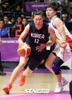 남북 단일팀, 대만의 속도 제어 못하며 대회 첫 패배