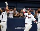 넥센 박병호 프로 최초 3년연속 40홈런, 두산에 10-7 역전승
