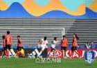 U-17 여자대표팀, 월드컵 첫 판 스페인전 0-4 대패