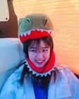 '매력만점' 김향기, 공룡모자도 찰떡 소화