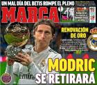 '33세' 모드리치, 레알과 사실상 종신계약…2021년까지(西 마르카)