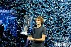 즈베레프, 조코비치 꺾고 ATP파이널 첫 우승