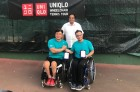 오상호, 휠체어 테니스 대회 2주 연속 2관왕