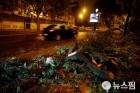 '허리케인 위력' 레슬리, 포르투갈 강타…27명 부상·30만가구 정전