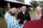 트럼프 대통령, 美 플로리다 '허리케인 피해 현장' 방문