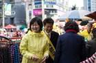 정의당, 공식선거운동 첫 주말 이정미 대표 등 총 출동