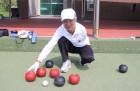 최고령 론볼선수 장애인AG 금메달 정조준