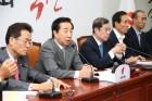 김병준 비상대책위원장,'가짜일자리 실상 및 대책 마련 긴급 간담회' 참석
