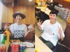 송재희♥지소연, 햄버거 먹방도 화보로 만드는 비주얼 부부