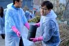 일화, 구리시 소외 계층 대상 '2018 사랑의 연탄' 봉사활동 진행