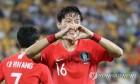 '종료직전 실점' 한국, 호주와 첫 원정 평가전서 1-1 무승부