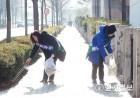 이정근 전 서초구청장 후보 '서초 거리 깨끗이'
