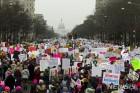 美전역서 3년째 '反트럼프' 여성행진… 워싱턴 10만명 운집