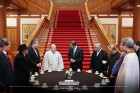 문재인 대통령, 이홍정 목사 등 종교 지도자들과 간담회