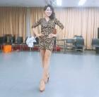 "'29kg감량' 홍지민, 호피 무늬 의상도 완벽 소화...""숨은 각선미 대발견"""