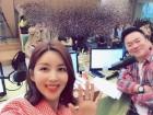 """박솔미, '컬투쇼' 출연 인증샷 재조명... """"여전한 미모 시선강탈"""""""