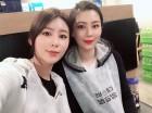 """'연애의 맛' 김보미, 쌍둥이 여동생과 일상속 블링블링 미모 투샷...""""최신근황 눈길"""""""
