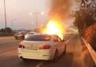 BMW 화재사고, 자차특약 통한 보상이 가장 빨라