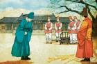 홀로 치르는 왕위 계승자의 통과의례