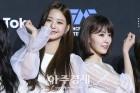 2018 MAMA 참석한 아이즈원(IZONE) 장원영-미야와키 사쿠라 (2018 마마)