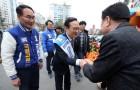 'PK 격전지' 창원성산·통영고성…선거운동 첫 주말 맞아 총력전