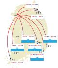 경부 부산방향 천안-목천 9km 정체