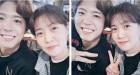 """'조작된 도시' 심은경, 박보검과 다정한 근황보니? """"남매같은 비주얼"""""""