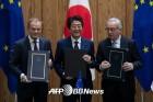 유럽의회, EU·日 경제동반자협정 승인 '세계 최대 무역협정'