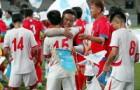 """상암벌서 남북 노동자축구대회 """"우리는 하나다"""" 열띤 응원"""