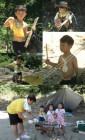 '타잔으로 변신' 설아-수아-시안, 이동국 ver 와일드 캠핑