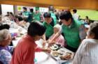 새마을지도자수원시협의회, 세류3동서 식사 봉사