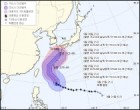 태풍 짜미, 중형급·매우 강한 강도로 일본 진출… 韓 제주도 '직·간접 영향'