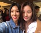 리아킴, 소녀시대 서현과 꿀리지 않는 미모… 일상샷