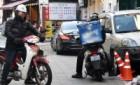 배달대행 오토바이 '영업경쟁 속 곡예운전'