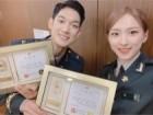 우주소녀 은서, 박재민과 함께 한 '육군홍보대사' 인증샷… '안구정화 비주얼'