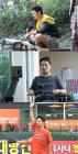 '동상이몽2' 인교진, 3개월 만 한화 시구 재도전